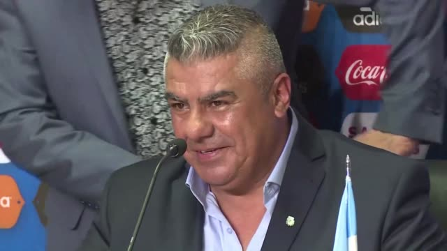 Claudio Tapia is elected president of the Argentine Football Association on Wednesday and says the AFA and its new leadership will make every effort...