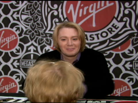 Clay Aiken at the Clay Aiken Signs Copies of His New Album 'On My Way Here' at Virgin Megastore in New York New York on May 6 2008