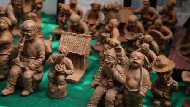 CU PAN Clay figure souvenirs / xi'an, shaanxi, china