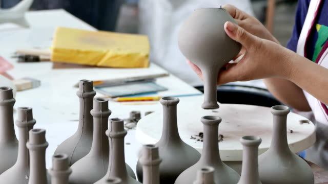 Clay Töpferwaren Potter Handwerk