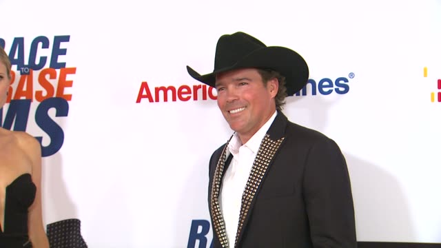clay walker at 19th annual race to erase ms glam rock to erase ms on 5/18/12 in los angeles ca - race to erase ms stock videos and b-roll footage