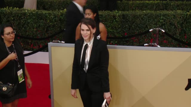 Clea DuVall at the 24th Annual Screen Actors Guild Awards at The Shrine Auditorium on January 21 2018 in Los Angeles California