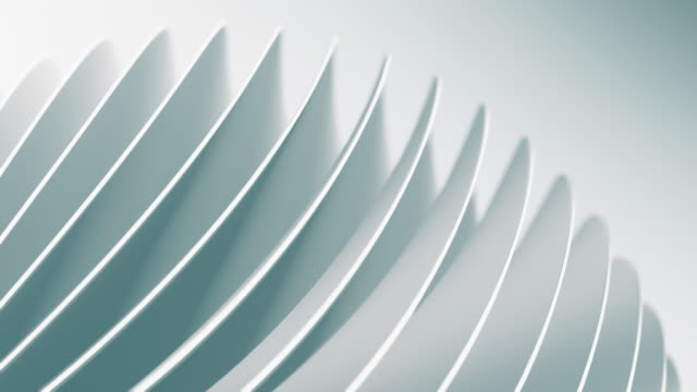 clean and soft background animation. abstract simple circles motion.(loopable) - design stock videos & royalty-free footage