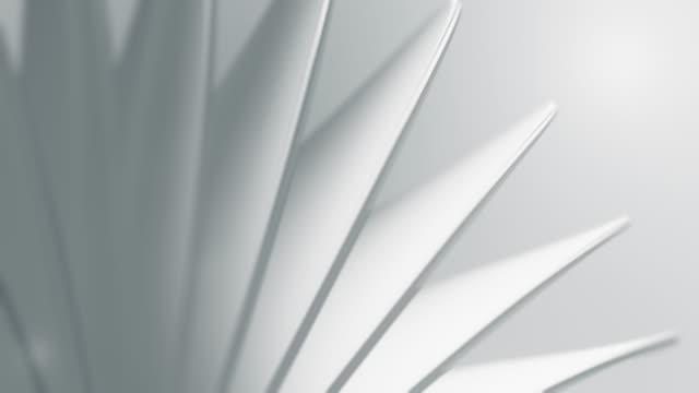 saubere und weiche hintergrundanimation. abstrakte einfache kreise bewegung. (loopable) - form stock-videos und b-roll-filmmaterial