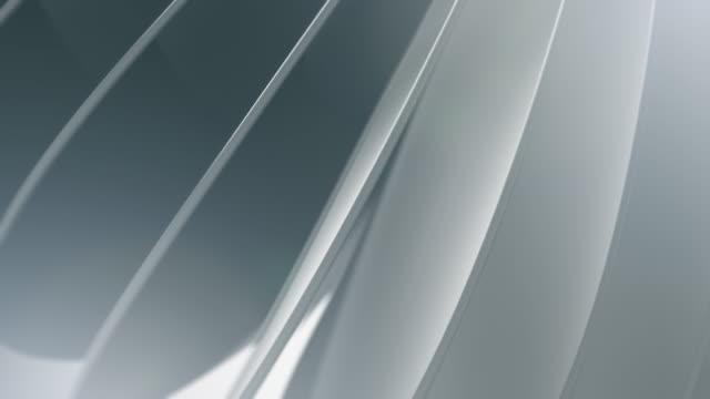 animazione di sfondo pulita e morbida. movimento astratto dei cerchi semplici. (loopable) - forma video stock e b–roll