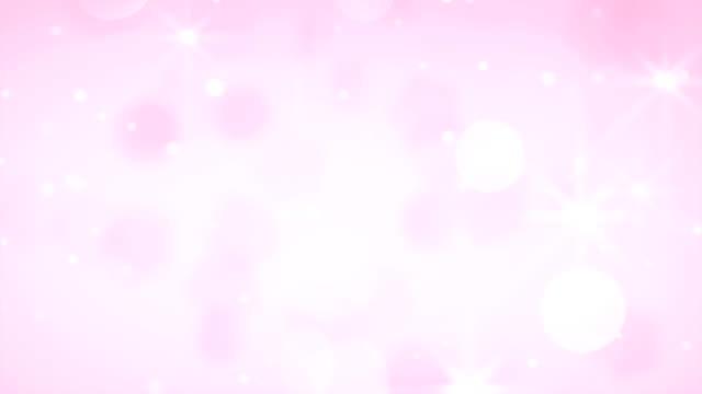 vídeos de stock, filmes e b-roll de fundo abstrato shimmery limpo e macio (loopable) - fundo rosa