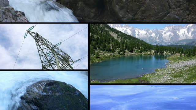 clean energy power from water - propeller stock videos & royalty-free footage
