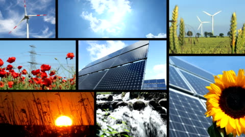clean energy power - montage - film montage stock videos & royalty-free footage