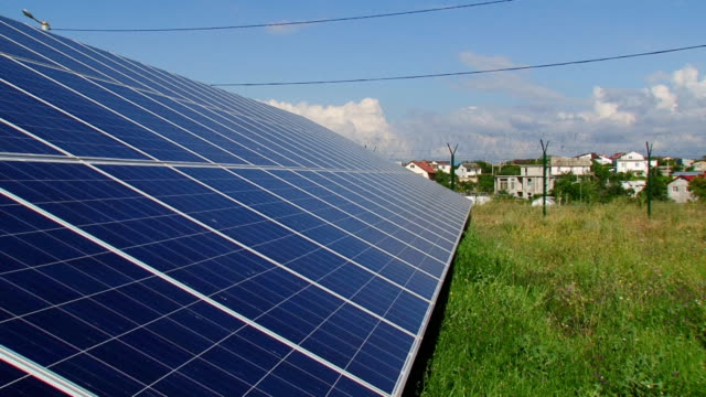 clean energy - solar panels