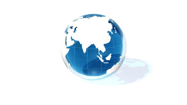 Saubere Welt mit transparenten Wasser
