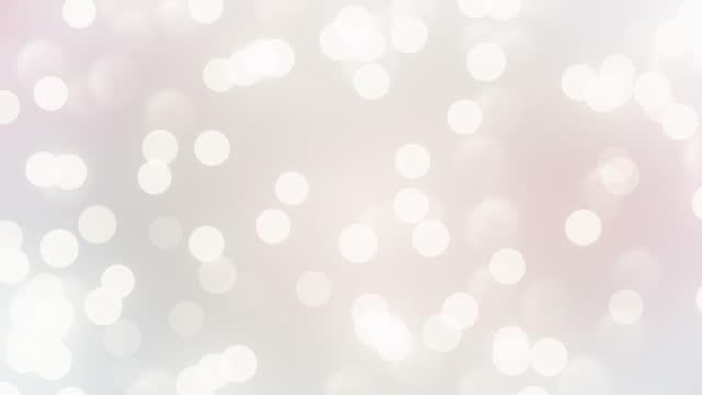 saubere, weiche und glänzende hintergrundanimation. abstrakte verschwommene kreis schöne bokeh bewegung design. die konzepte von berühmtheit, glückliches neues jahr, veranstaltungen, valentinstag, finanzen, spiel, internet, bildung, brainstorming, mode - leuchtende farbe stock-videos und b-roll-filmmaterial