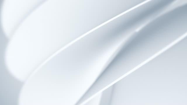 vidéos et rushes de animation de fond blanc propre, doux et brillant. conception de mouvement simple abstraite de cercle de jeu. les concepts de vortex, business, finance, jeu, internet, données, éducation, remue-méninges, moderne, web et mobile, boucle sans couture 3d - fonds abstraits