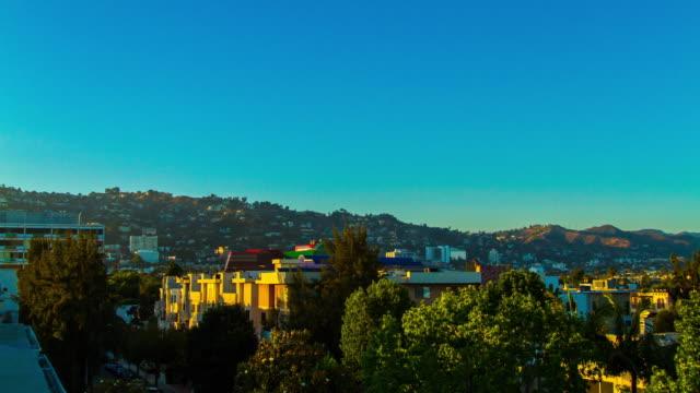 Clean Sunset Sunset Blvd & Hollywood Hills