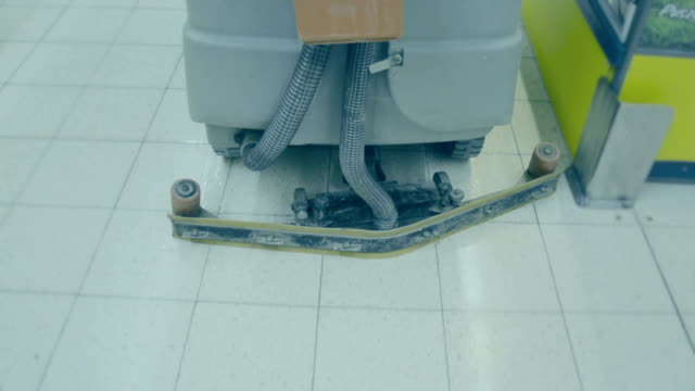cleaning machine at supermarket, shopping center - laundry detergent stock videos and b-roll footage