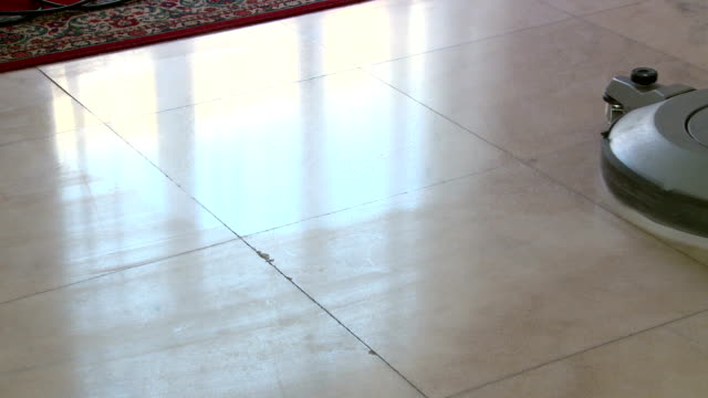 cleaning of marble floor