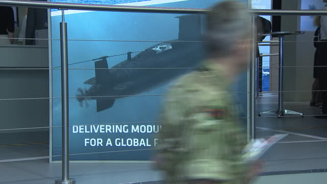 GBR: Defence and Security Equipment International (DSEI) 2021 exhibition in London