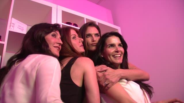 launch party for latisse, los angeles, ca, united states, 03/26/09 - ブルック シールズ点の映像素材/bロール