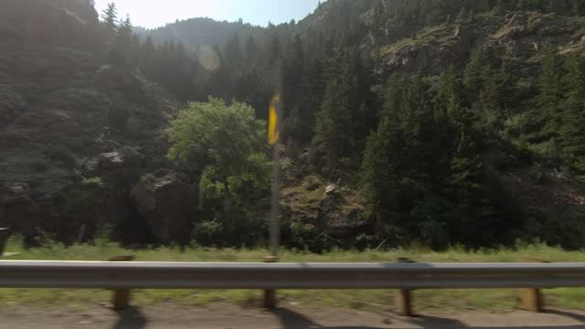 clear creek canyon 4 synced series right summer driving - number 4 stock videos & royalty-free footage