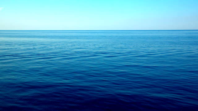 clear open sea waving - horizon over water stock videos & royalty-free footage