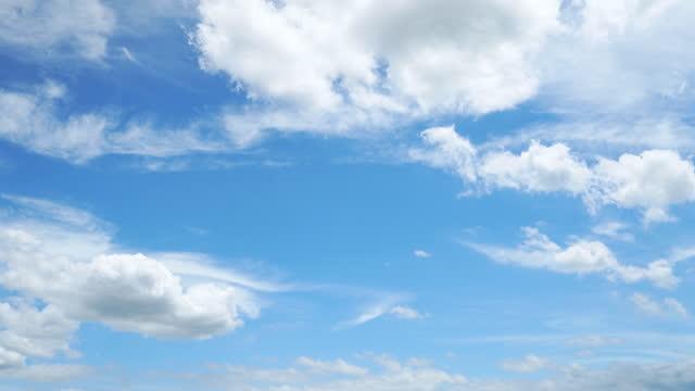 vídeos de stock e filmes b-roll de clear sky. - nuvem