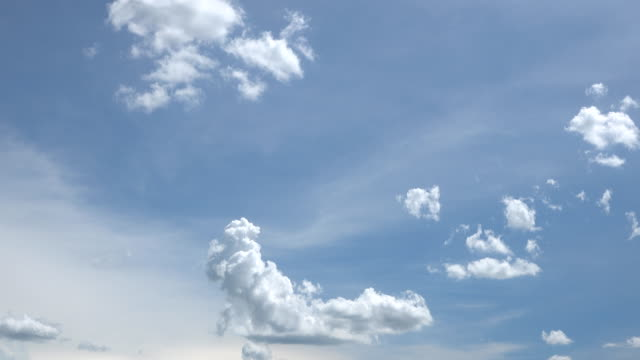 clear sky with a cloud, time lapse. - film composite stock videos & royalty-free footage