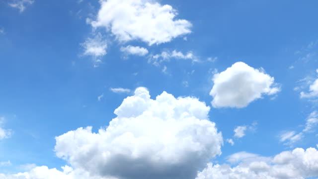 stockvideo's en b-roll-footage met duidelijke hemel met een wolk. - cloud sky