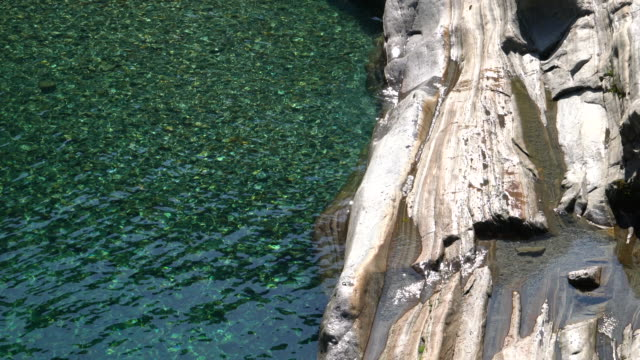clear water in a mountain river - ticino canton stock videos and b-roll footage