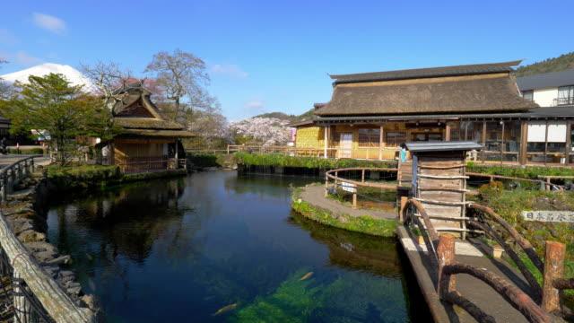 clear water in oshino hakai - 村点の映像素材/bロール