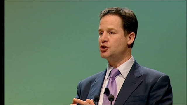 Clegg speech to Scottish Liberal Democrats conference These are cashtight times So it's more important than ever that we spend more fairly...