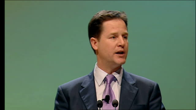 Clegg speech to Scottish Liberal Democrats conference For each of these crises we have brought forward solutions We have turned Liberal Democrat...