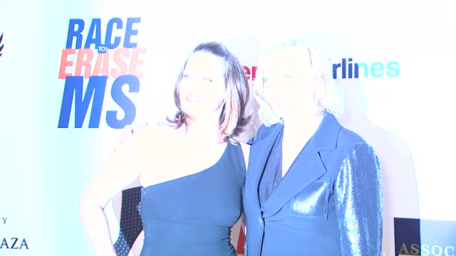 clementine ford cybill shepherd at 19th annual race to erase ms glam rock to erase ms on 5/18/12 in los angeles ca - race to erase ms stock videos and b-roll footage