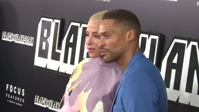 Cleo Anthony and Kennedy Yanko at 'BlacKkKlansman' New York Premiere Presented by Focus Features on July 30 2018 in New York City