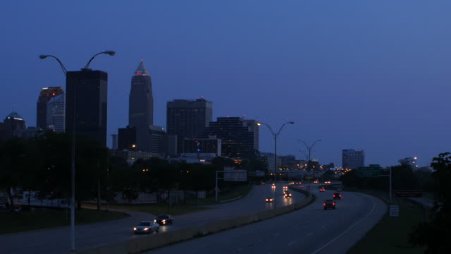 cleveland, oh - cleveland ohio stock videos and b-roll footage