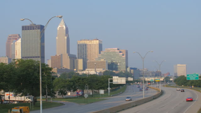 cleveland, oh - cleveland ohio stock videos & royalty-free footage