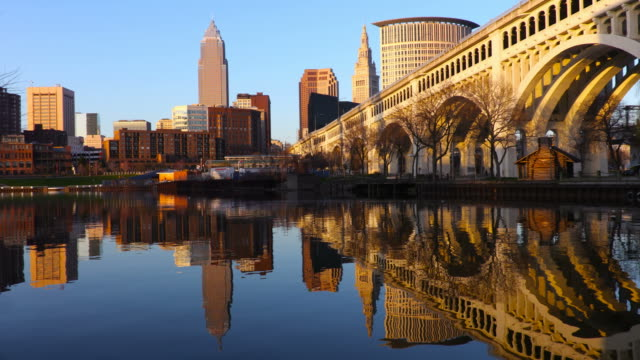 cleveland, ohio - cleveland ohio stock videos and b-roll footage