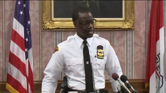 WJW Cleveland Police Chief speaks at press conference one day after Steve Stephens shot and killed 74yearold Robert Godwin Sr live on Facebook on...