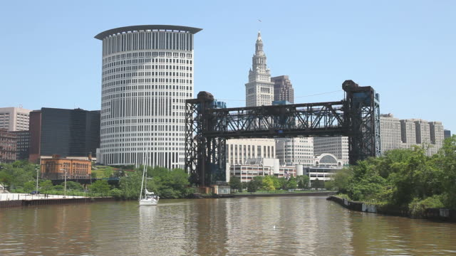 cleveland - cleveland ohio stock videos and b-roll footage