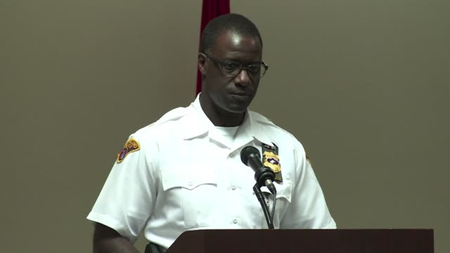 cleveland's chief of police said his force has made preparations in case of a nice style vehicle attack at the republican convention which officially... - police chief stock videos and b-roll footage