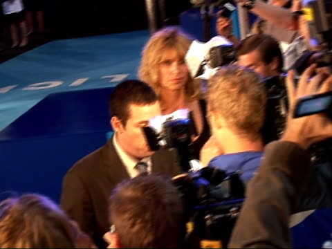 'Click' film premiere Interviews Adam Sandler signing autographs speaking to press