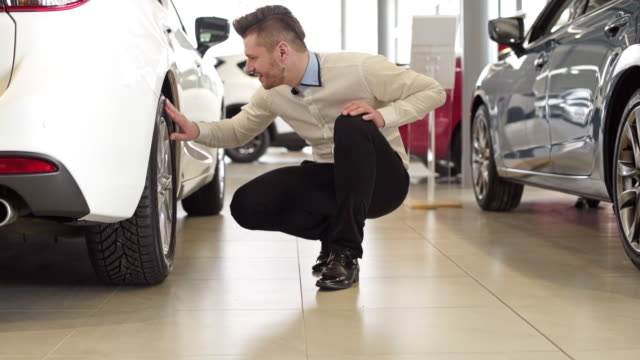 client/ rzeszow/ poland - car showroom stock videos & royalty-free footage