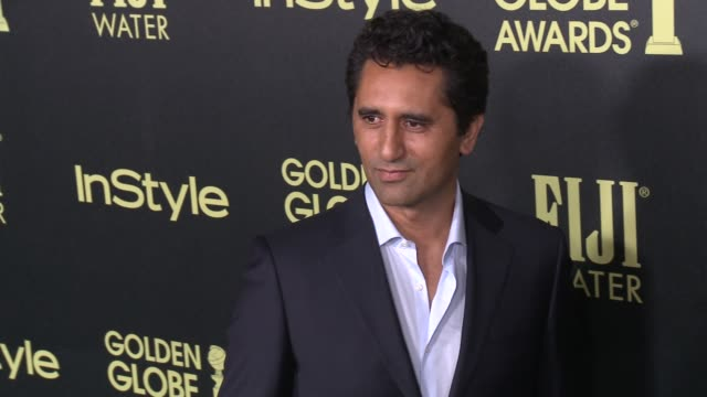 vídeos de stock e filmes b-roll de cliff curtis at the hollywood foreign press association and instyle celebrate the 2016 golden globe award season at ysabel on november 17 2015 in... - prémio globo de ouro
