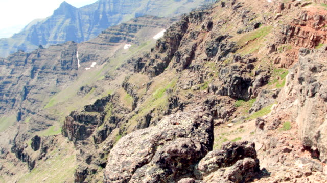 Cliff edge pan Summit Steens Mountain Near Malhuer Wildlife Refuge 32