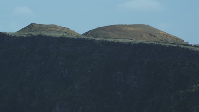 cliff face, clouds, sky, el hierro, canary islands, november 2011 - igneous stock videos and b-roll footage