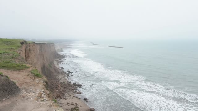 cliff in mar del plata - buenos aires province stock videos & royalty-free footage
