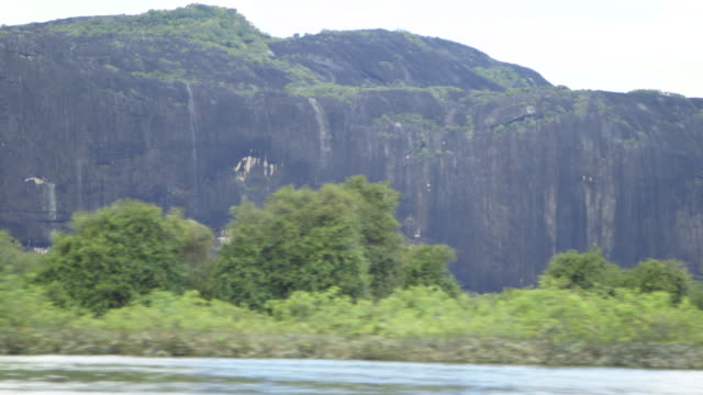 Cliff on the side of the Orinoco River, Venezuela
