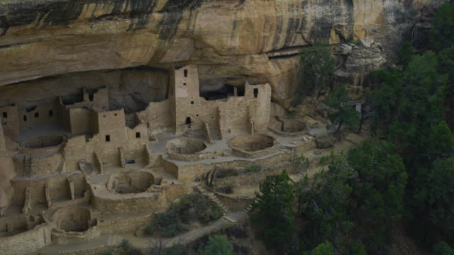 cliff palace, mesa verde national park, unesco world heritage, colorado, usa, north america, america - mesa verde nationalpark stock-videos und b-roll-filmmaterial