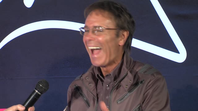 cliff richard at the cliff richard soulicious album launch at london england. - cliff richard stock videos & royalty-free footage