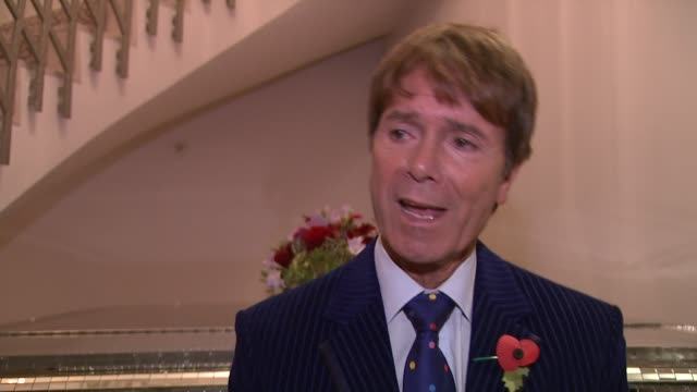 cliff richard at the lady taverners tribute lunch to sir cliff richard at dorchester hotel on november 09, 2012 in london, england - dorchester hotel stock videos & royalty-free footage