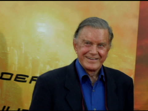cliff robertson at the 'spiderman 2' los angeles premiere arrivals at the mann village theatre in westwood california on june 22 2004 - regency village theater stock videos & royalty-free footage