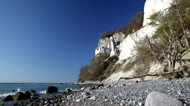 海岸の崖 - 堆積岩点の映像素材/bロール